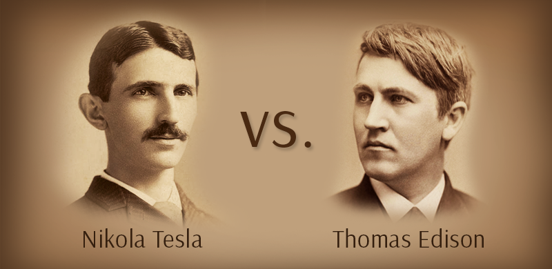 نیکولا تسلا و توماس ادیسون - مخترع برق