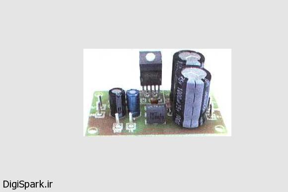 آمپلی فایر با ای سی TDA2030 - دیجی اسپارک