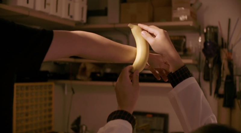 موز خوراکی مجهز شده به فن آوری پوشیدنی - دیجی اسپارک