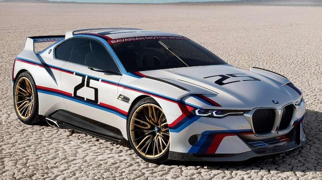 خودروی جدید BMW با نام CSL Hommage R