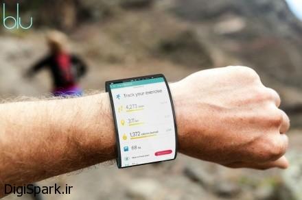 Blu اولین گوشی هوشمند پوشیدنی و قابلیت تبدیل به دست بند| دیجی اسپارک