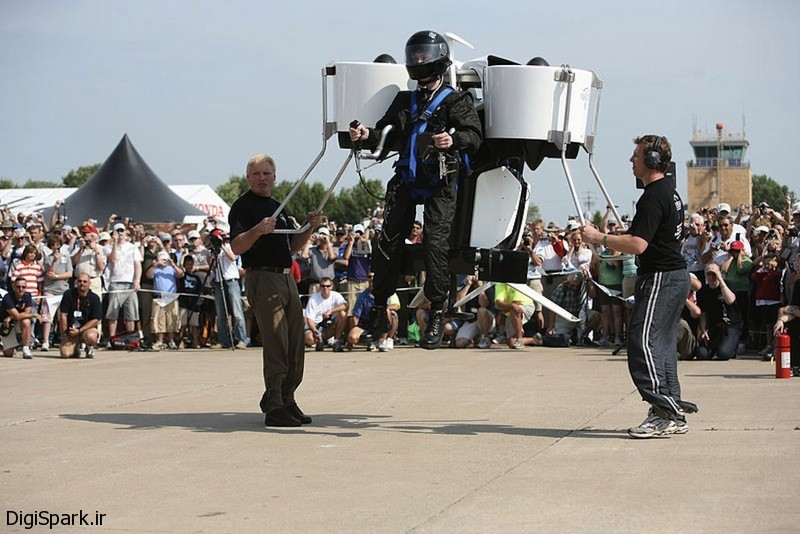 Martin Jetpack یک حمل و نقل شخصی برای آینده - دیجی اسپارک