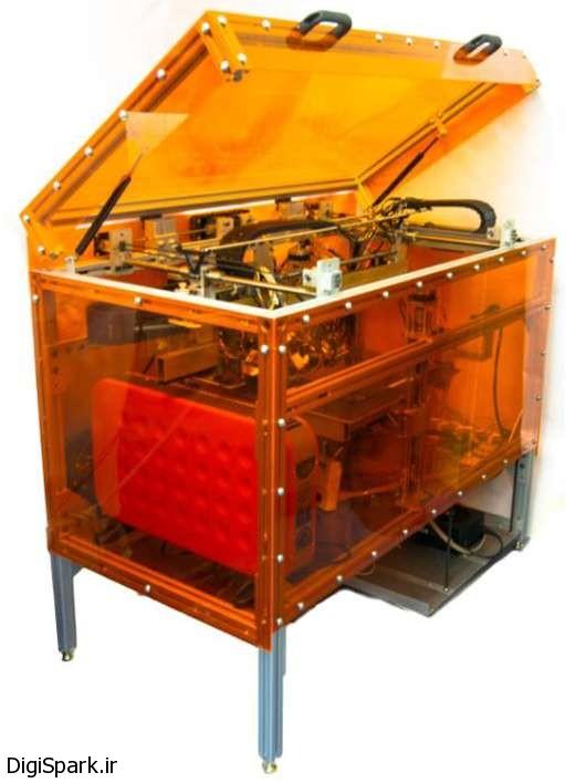 چاپگر سه بعدی MultiFab با استفاده از 10 ماده اولیه