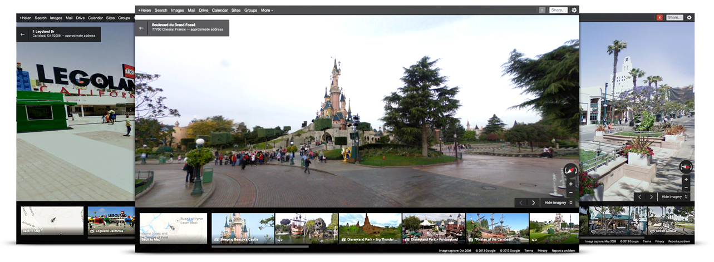 Street View در برنامه Google Map
