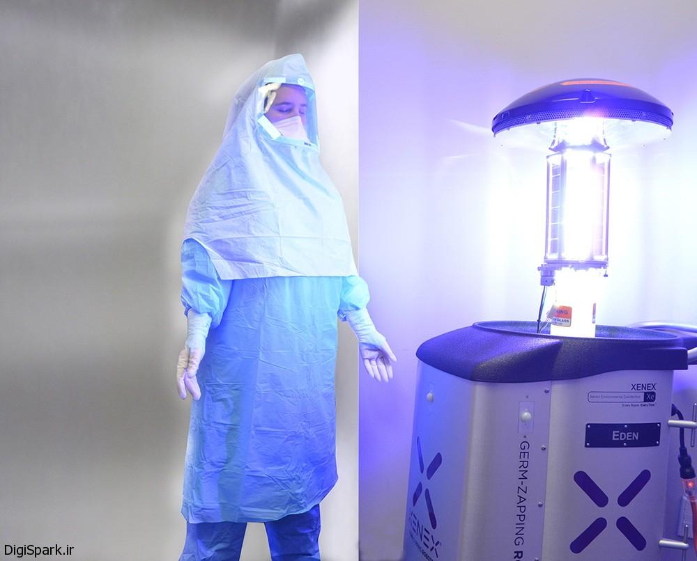 ربات Xenex را به عنوان پرستار استخدام می شود-دیجی اسپارک