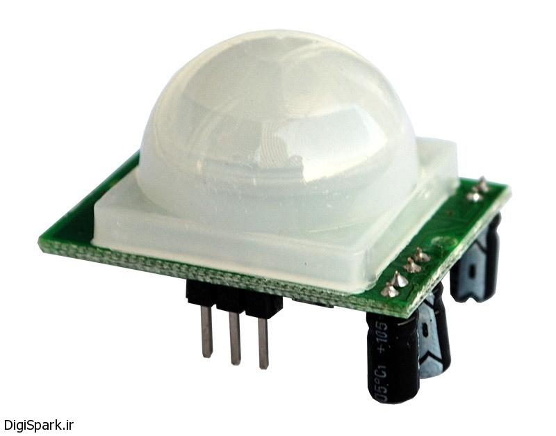 آموزش راه اندازی ماژول تشخیص حرکت hc srf501