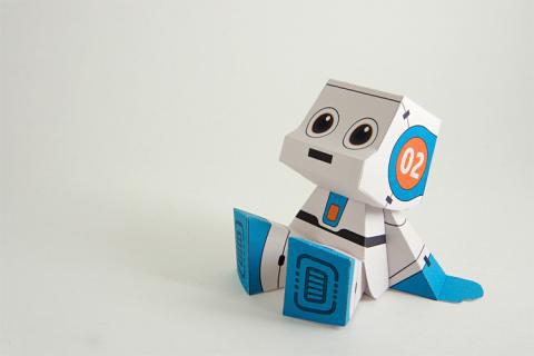 میکرو ربات کاغذی