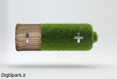 باتری های منعطف چوبی - دیجی اسپارک