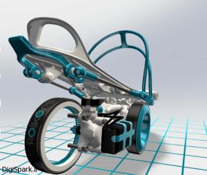 زیر کفشی موتوری برای افزایش سرعت تا 11کیلومتر1