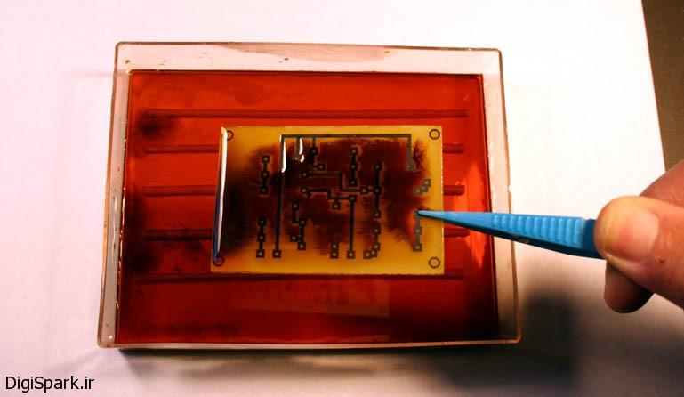 12 مرحله تا ساخت فیبر مدار چاپی - دیجی اسپارک