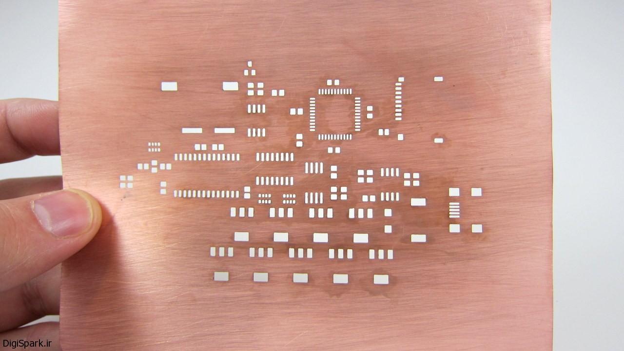 12 مرحله تا ساخت فیبر مدار چاپی - دیجی اسپارک (2)