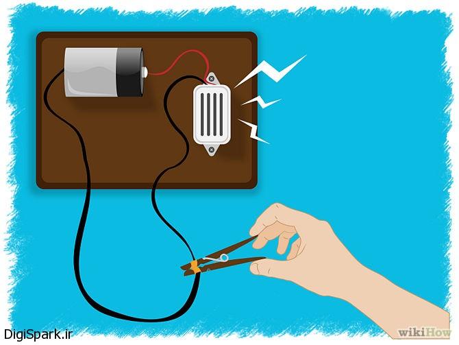 آموزش ساخت مدار کنترل ورودی-دیجی اسپارک (2)