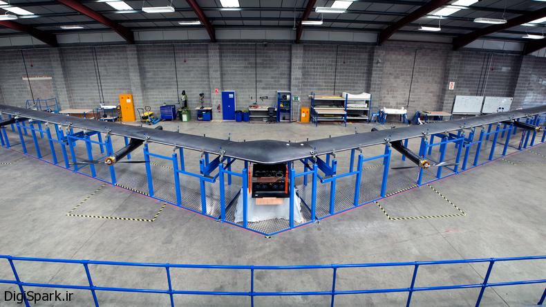 اینترنت سریع فیسبوک با انرژی خورشیدی Aquila