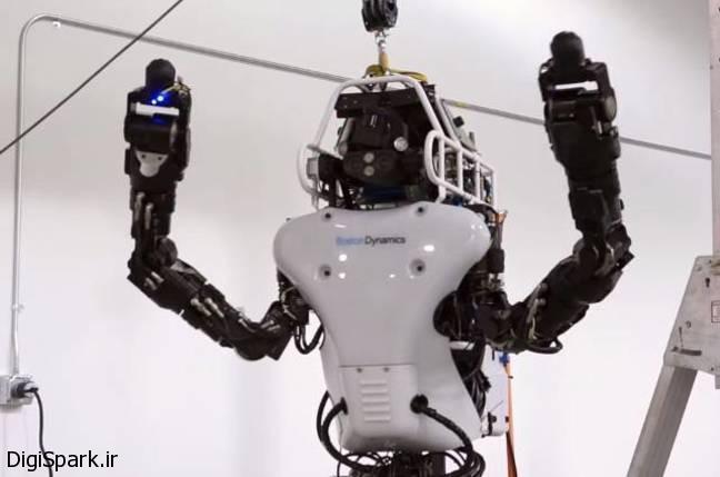 ربات انساننمای Atlas unplugged ساخته دارپا