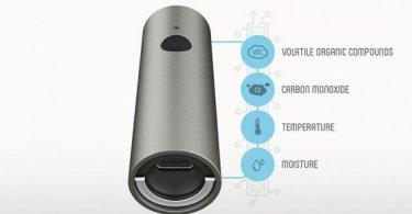 دستگاه Atmotube برای آنالیز هوا و اندازهگیری میزان آلودگی