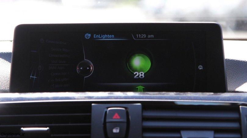 زمانبندی تغییرات چراغ راهنمایی در خودروهای BMW