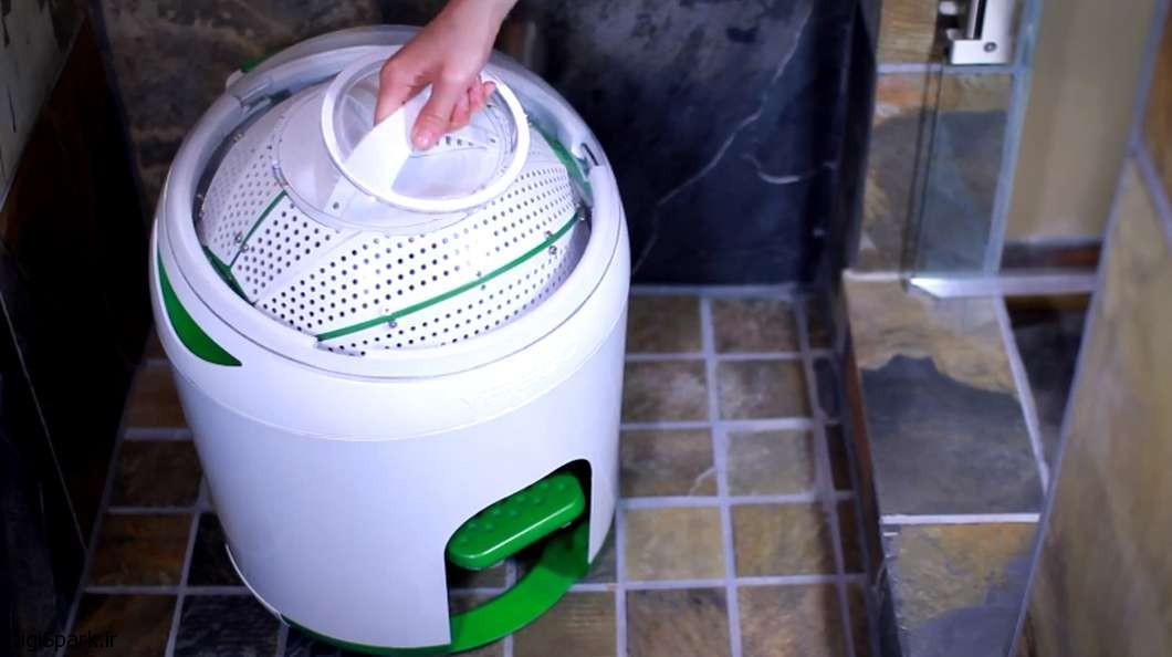 ماشین لباسشویی پدالی | دیجی اسپارکDrumi
