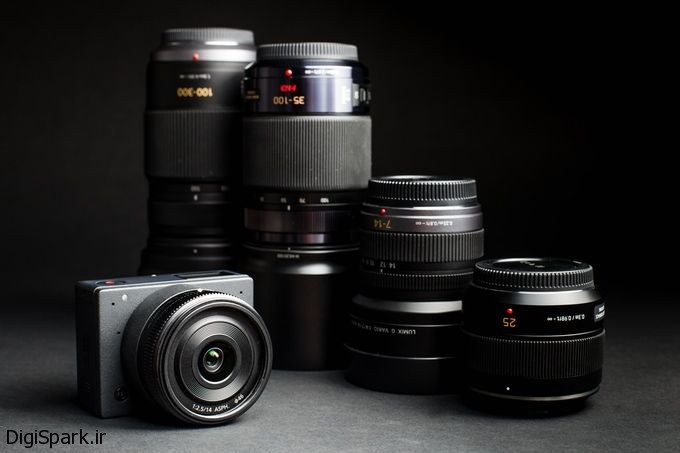 دوربین E1کوچک با کیفیت 4K وخاصیت تغییرلنز