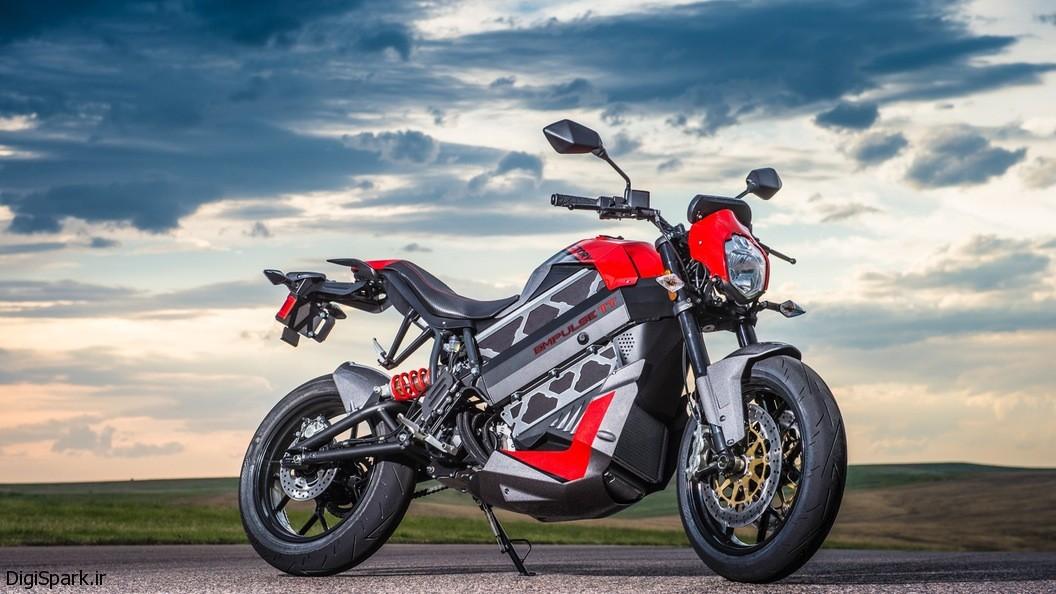موتورسیکلت الکتریکی جادهرو Empulse TT