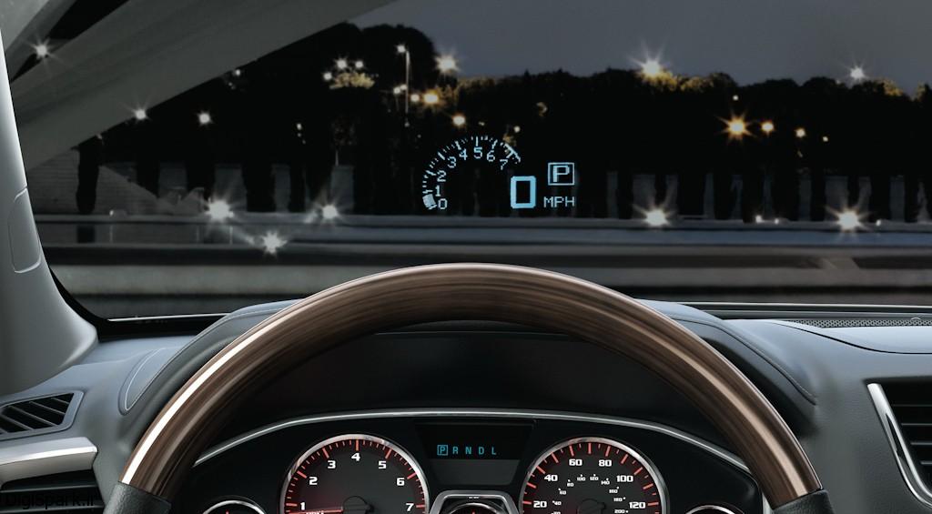 تکنولوژی Head Up Display در اتومبیل