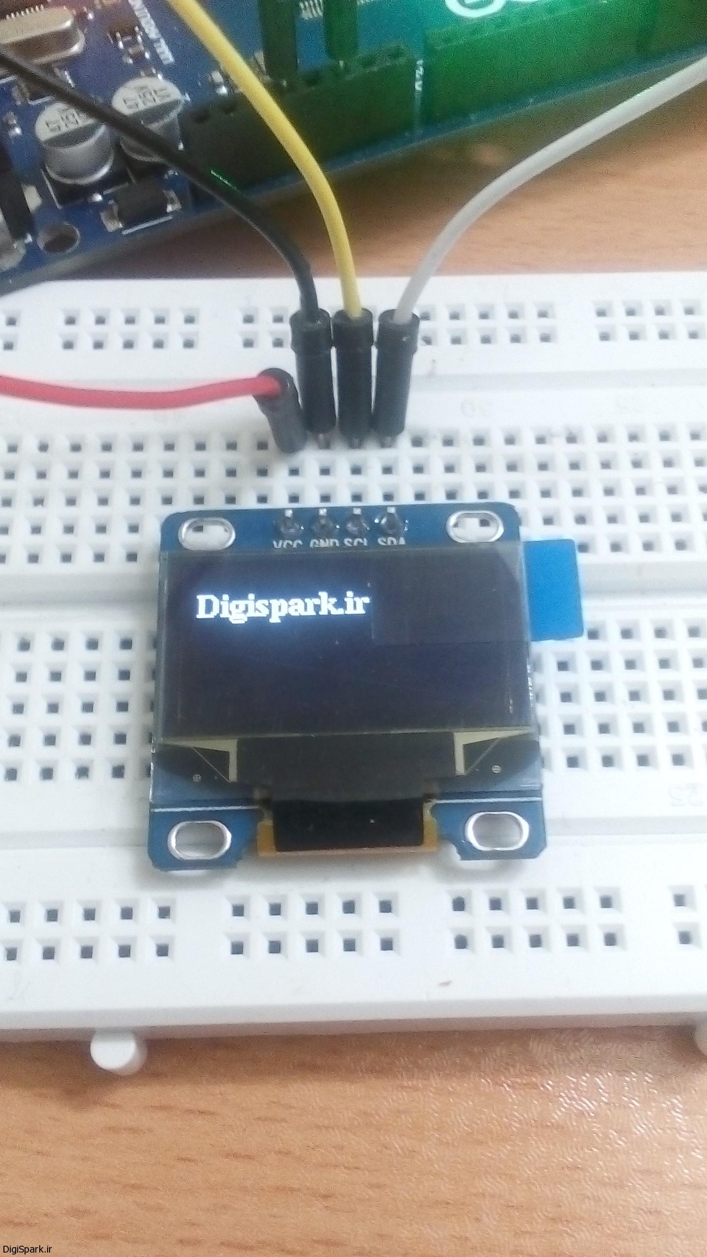 آموزش OLED در آردوینو Arduino