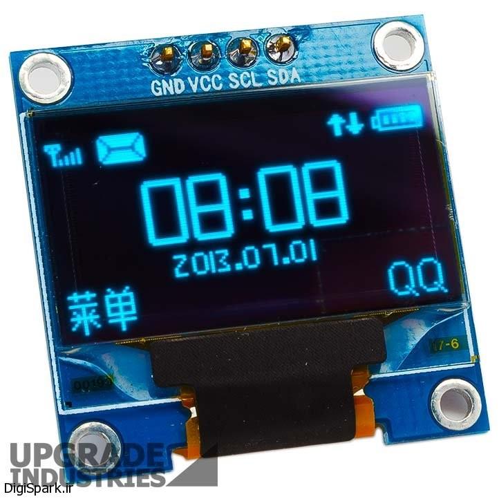 نمایشگر OLED چیپ SSD1306