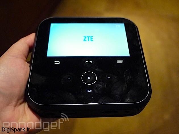 پروژکتور بیسیم ZTE با قابلیت اشتراک اینترنت
