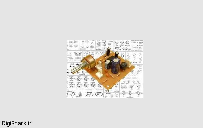آمپلی فایراستریو با ای سی TDA2822 - دیجی اسپارک