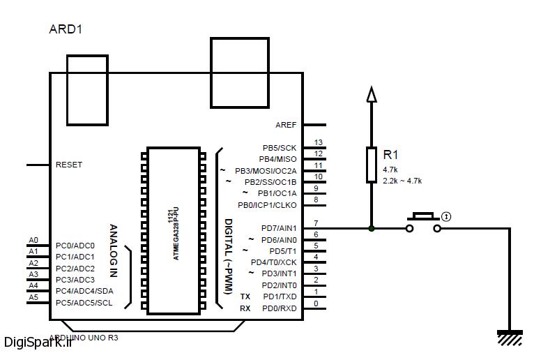 آموزش Debouncing یا نویگز کیری کلید در Arduino