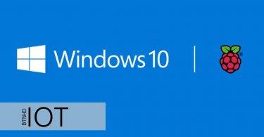 نصب ویندوز 10 IoT برد رزبری پای Raspberry Pi Windows IoT