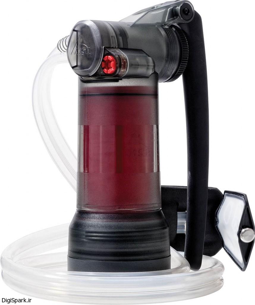 دستگاه MSR برای تصفیه آب و از بین بردن ویروسها