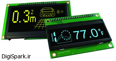 آموزش راه اندازی ماژول نمایشگر OLED در آردوینو arduino
