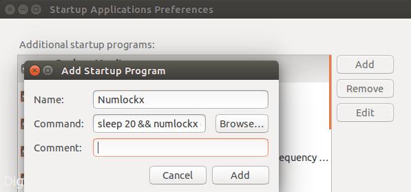 numlock-startup