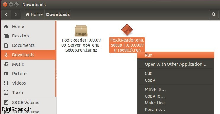 run-foxit-installer