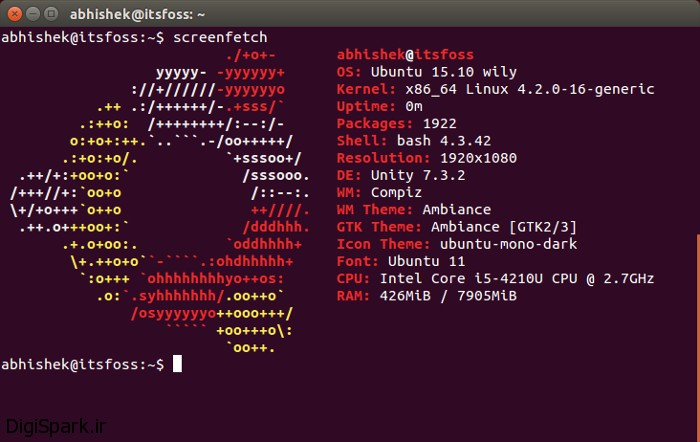 Screenfetch-Ubuntu