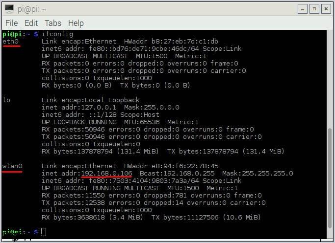 پیدا کردن آدرس IP لوکال در لینوکس