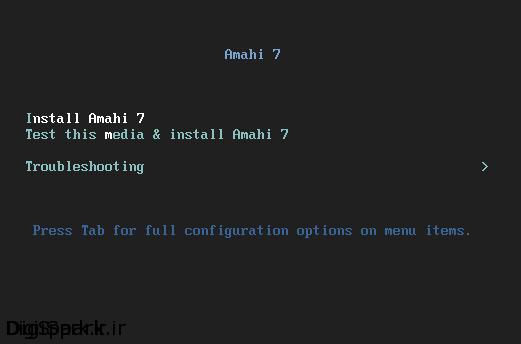 install-amahi
