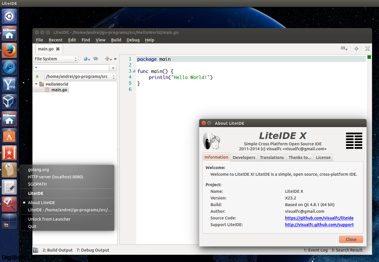 liteide-ubuntu