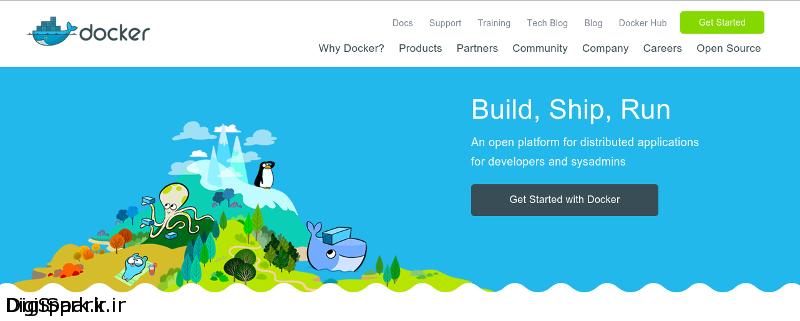 docker-webpage