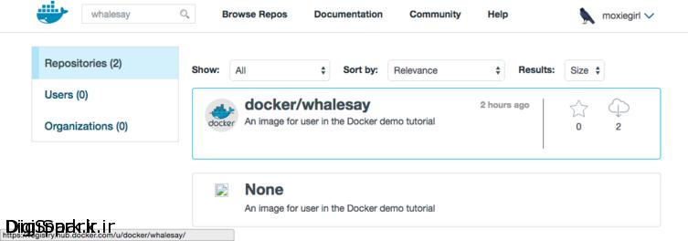 docker-whalesay-image-download
