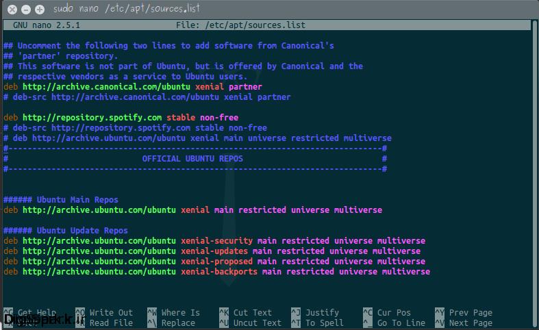 nano-editor-linux