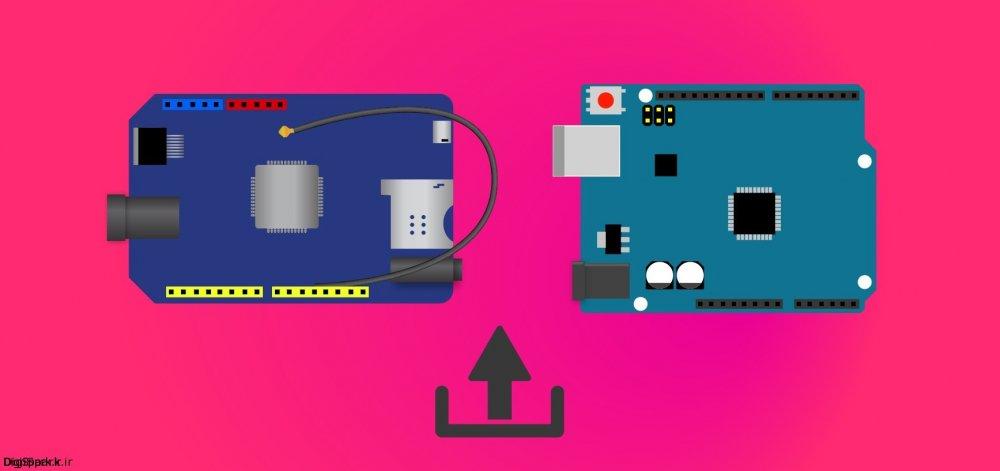 آموزش ارسال sms با شیلد sim800c آردوینو Arduino