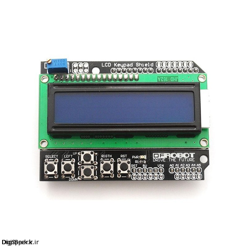 شیلد LCD آردوینو