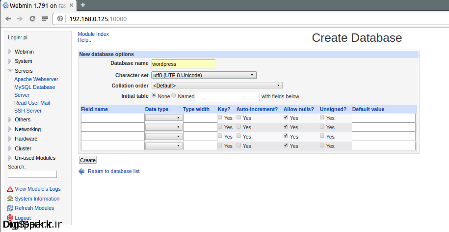create-wordpress-mysql-user