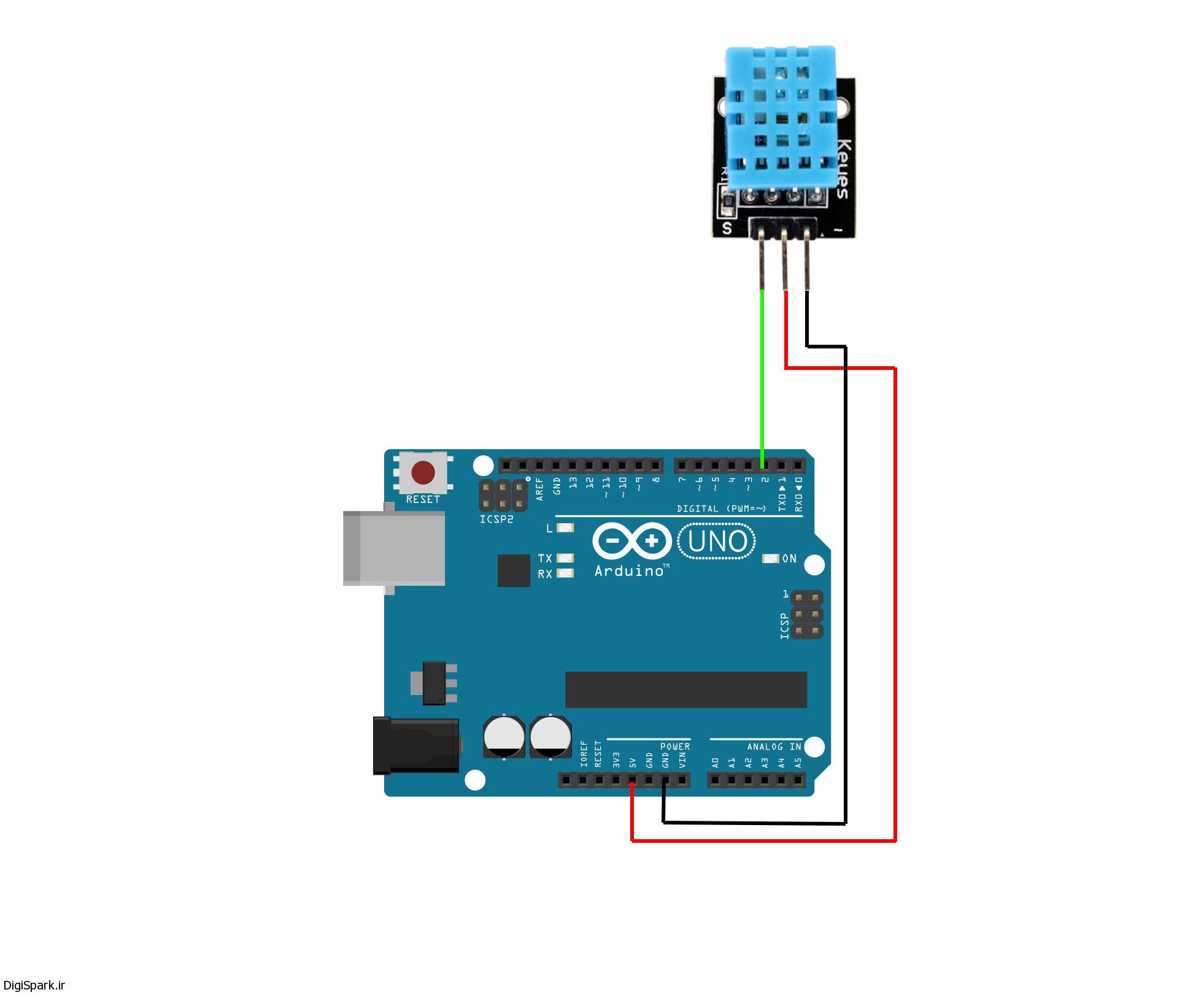 DHT11 arduino sensorkit