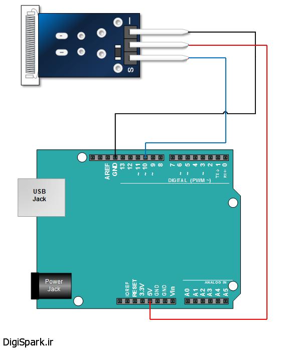 KY-031-Arduino-Knock-Sensor- سنسور ضربه و شوک آردوینو