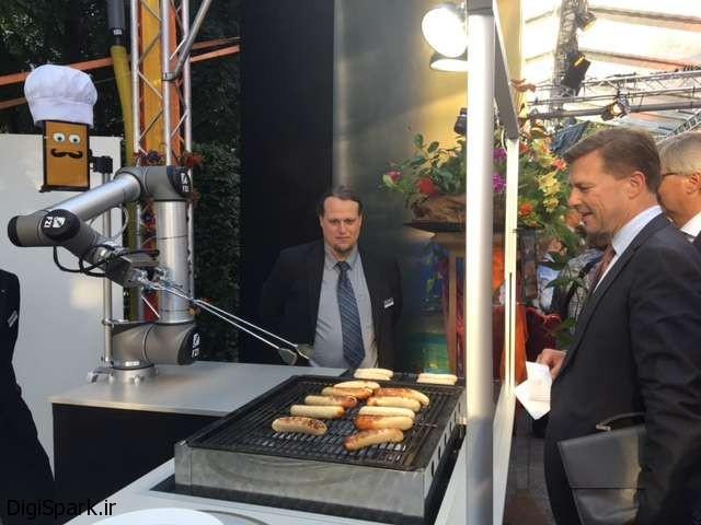 دیجی ربات - ربات سوسیس پز