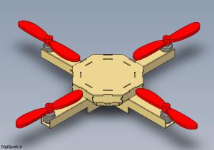 Quadcopter-badaneh