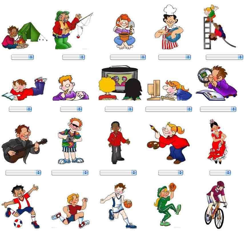 Прикольные картинки, картинки с хобби на англ