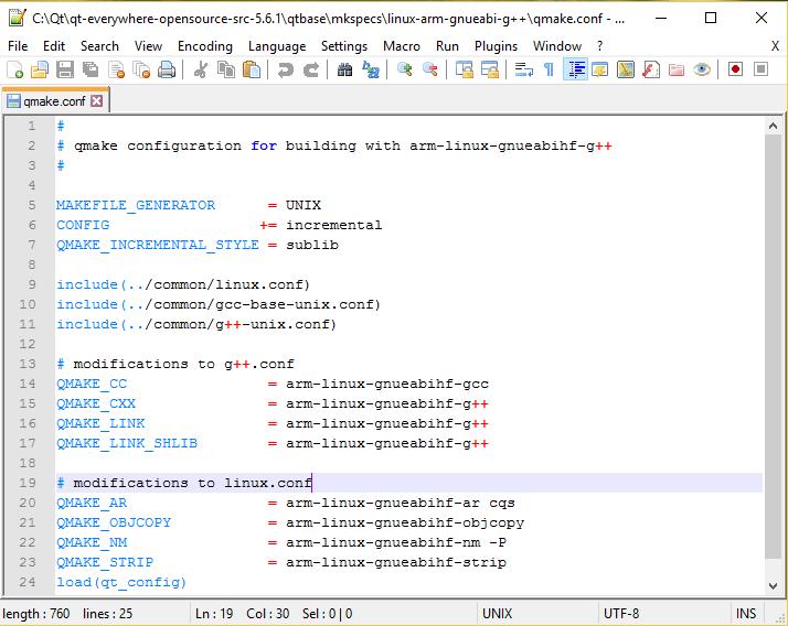 linux-arm-gnueabi-g++